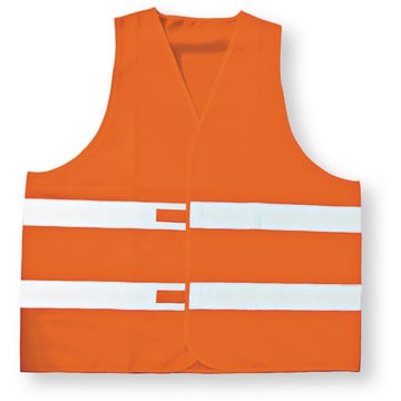 Advarselsvest, orange